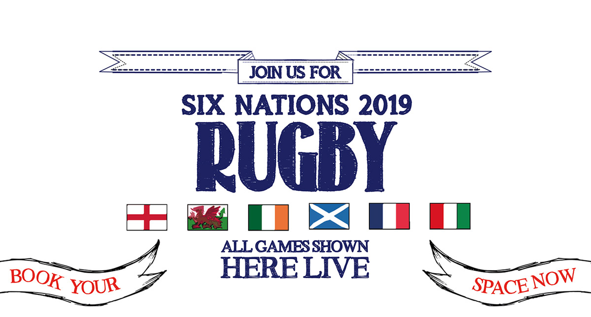 Watch the 6 Nations at The Royal Oak in Oxford